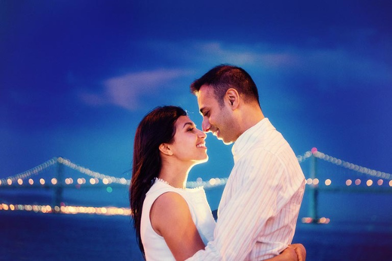 Sujata & Ani Engagement session in San Francisco - photo by Jasmine Wang